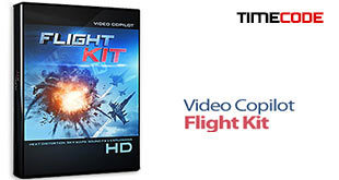 مجموعه فوتیج Video Copilot Flight Kit